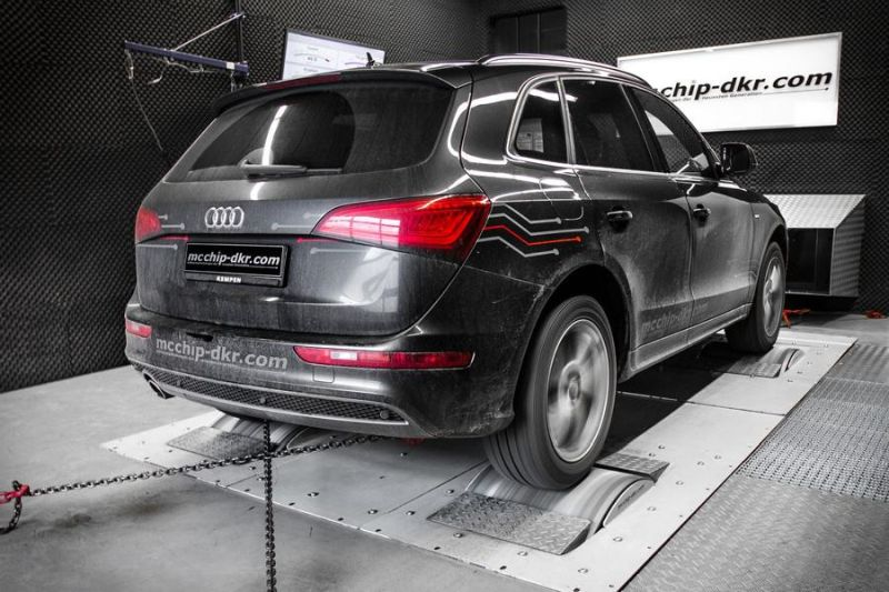 Audi Q5 2.0 TDI CR Chiptuning Mcchip DKR SoftwarePerformance 3 202PS & 431NM im Audi Q5 2.0 TDI CR by Mcchip DKR