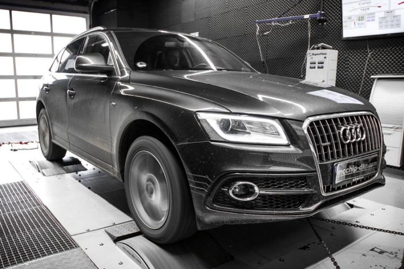 Audi Q5 2.0 TDI CR Chiptuning Mcchip DKR SoftwarePerformance 4 202PS & 431NM im Audi Q5 2.0 TDI CR by Mcchip DKR