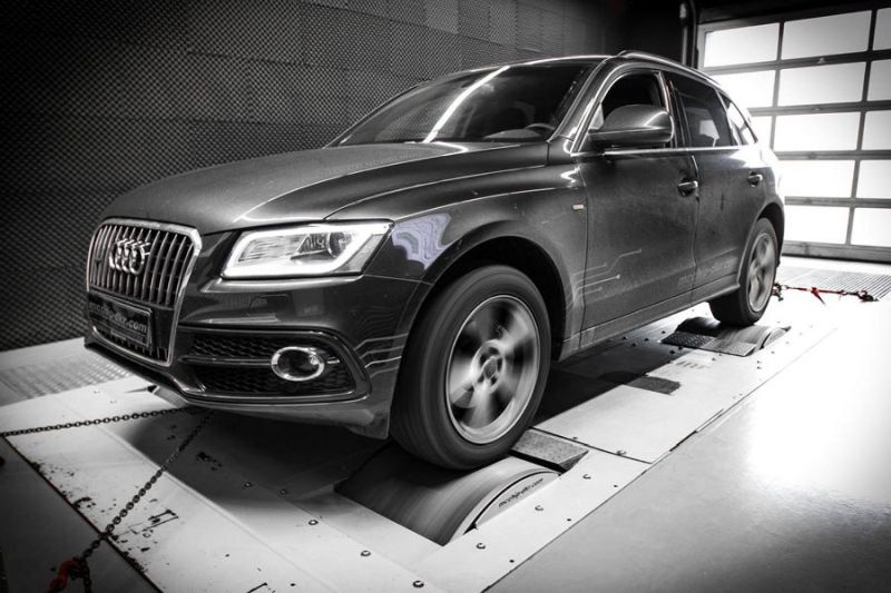 Audi Q5 2.0 TDI CR Chiptuning Mcchip DKR SoftwarePerformance 5 202PS & 431NM im Audi Q5 2.0 TDI CR by Mcchip DKR