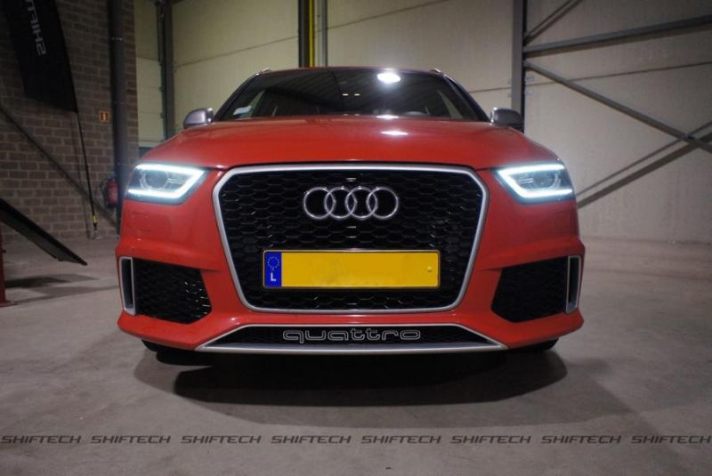 Audi RS Q3 ShifTech Luxembourg Chiptuning 2 382PS & 571NM im Audi RS Q3 von ShifTech Luxembourg