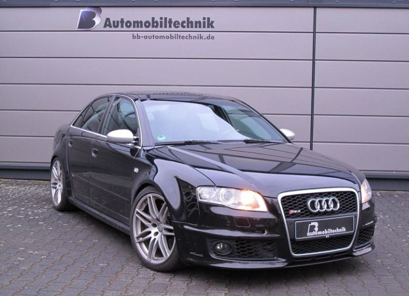Audi RS4 B7 Chiptuning 426PS by BB Automobiltechnik 1 Sauger Tuning   Audi RS4 B7 mit 426PS by B&B