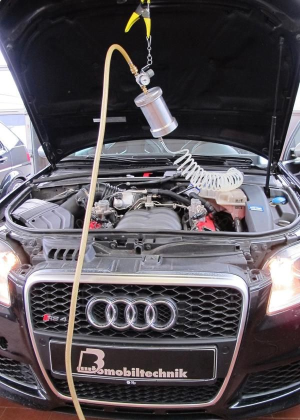 Audi RS4 B7 Chiptuning 426PS by BB Automobiltechnik 2 Sauger Tuning   Audi RS4 B7 mit 426PS by B&B