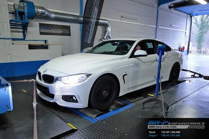 BMW 4er F32 418D 188PS Chiptuning BR Performance Luxembourg 1