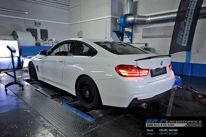 BMW 4er F32 418D 188PS Chiptuning BR Performance Luxembourg 2