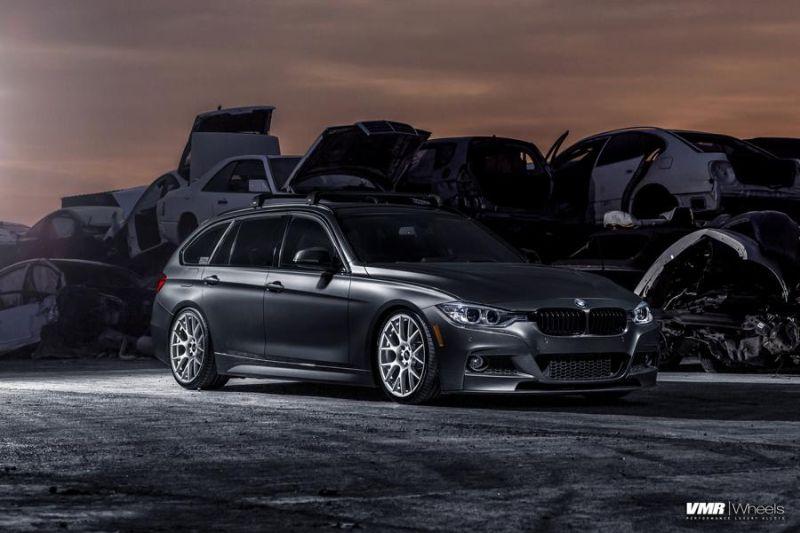 BMW F31 328i Touring 19 Zoll VMR V810 Felgen Tuning 1 Schicker BMW F31 328i auf 19 Zoll VMR V810 Felgen