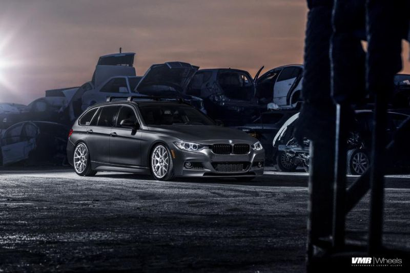 BMW F31 328i Touring 19 Zoll VMR V810 Felgen Tuning 3 Schicker BMW F31 328i auf 19 Zoll VMR V810 Felgen