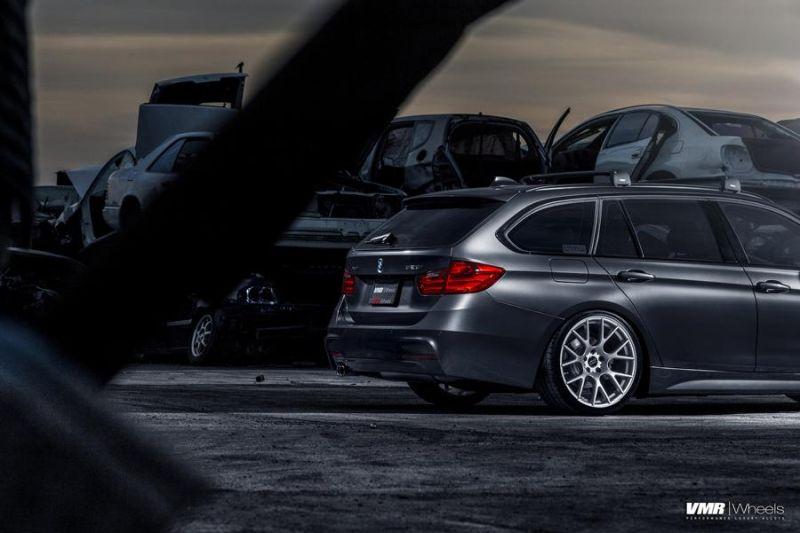 BMW F31 328i Touring 19 Zoll VMR V810 Felgen Tuning 6 Schicker BMW F31 328i auf 19 Zoll VMR V810 Felgen