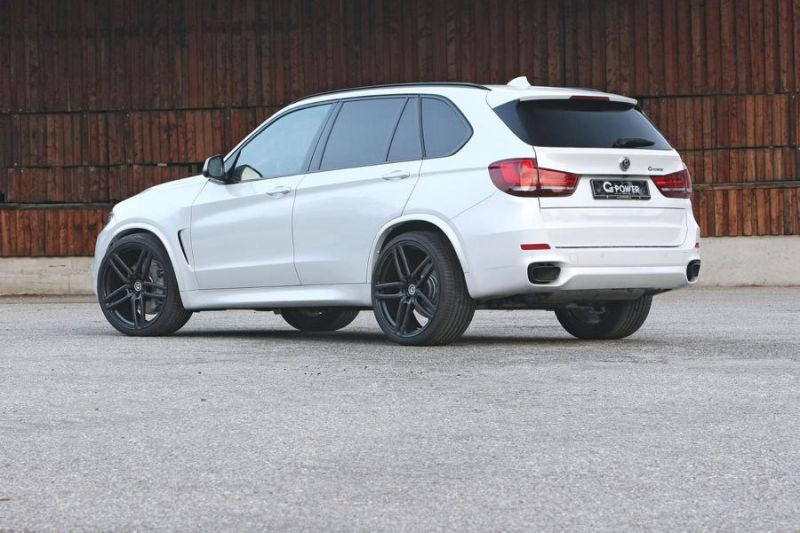 BMW X5 M50d F15 455PS 870NM by G Power Chiptuning 1 BMW X5 M50d F15 mit 455PS & 870NM by G Power