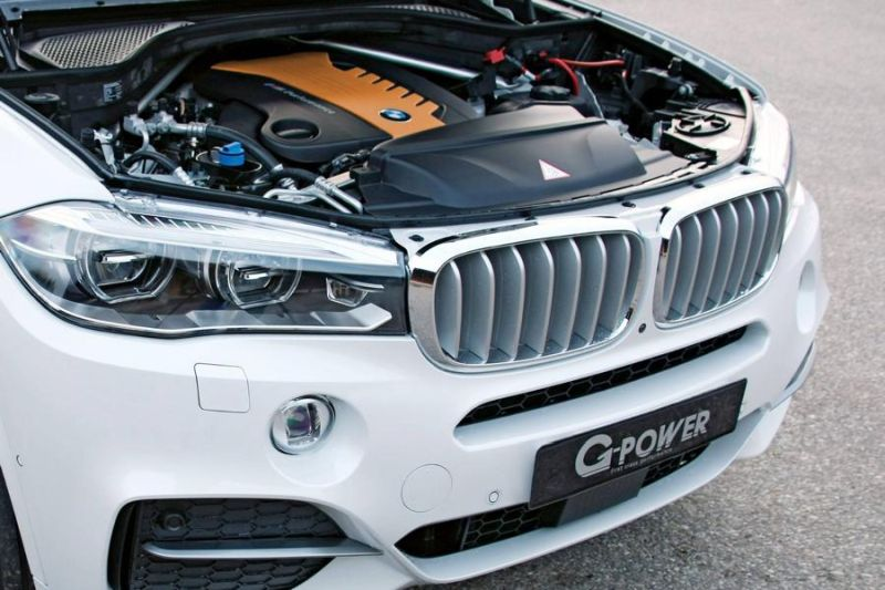 BMW X5 M50d F15 455PS 870NM by G Power Chiptuning 2 BMW X5 M50d F15 mit 455PS & 870NM by G Power