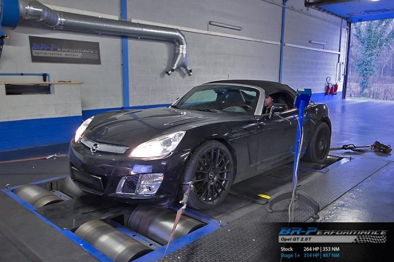 BR Performance - 314PS & 487NM Opel GT 2.0T 1