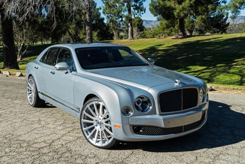 Bentley Mulsanne Forgiato Wheels Alufelgen Tuning 1 Riesig   Bentley Mulsanne auf Forgiato Wheels Alufelgen