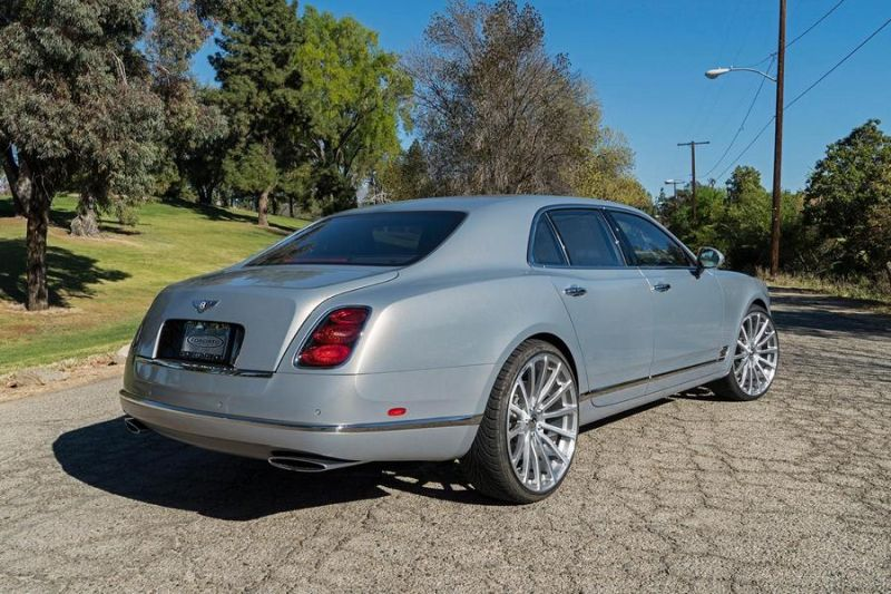 Bentley Mulsanne Forgiato Wheels Alufelgen Tuning 3 Riesig   Bentley Mulsanne auf Forgiato Wheels Alufelgen