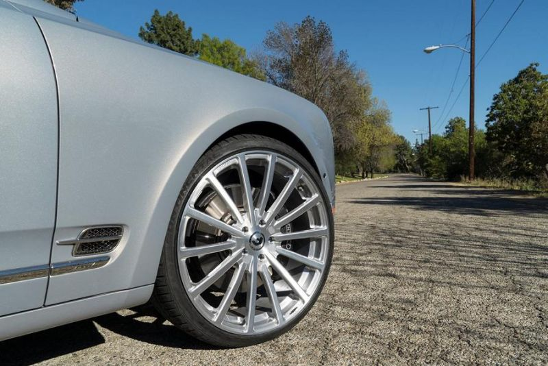 Bentley Mulsanne Forgiato Wheels Alufelgen Tuning 4 Riesig   Bentley Mulsanne auf Forgiato Wheels Alufelgen