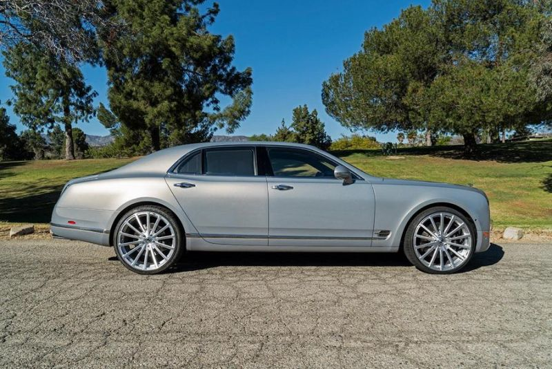 Bentley Mulsanne Forgiato Wheels Alufelgen Tuning 5 Riesig   Bentley Mulsanne auf Forgiato Wheels Alufelgen