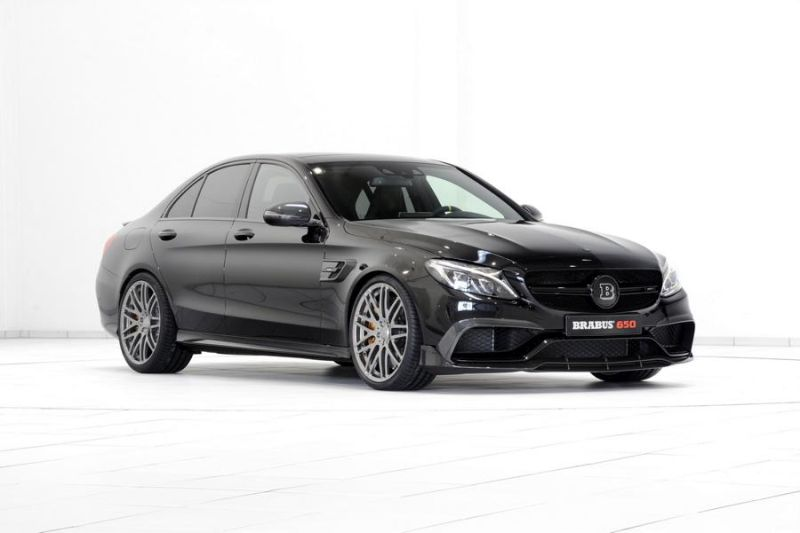Brabus Mercedes C63 AMGs 650PS Tuning 10