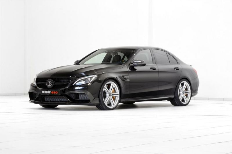 Brabus Mercedes C63 AMGs 650PS Tuning 12 1 Noch mehr   Brabus Mercedes C63 AMG s mit 650PS