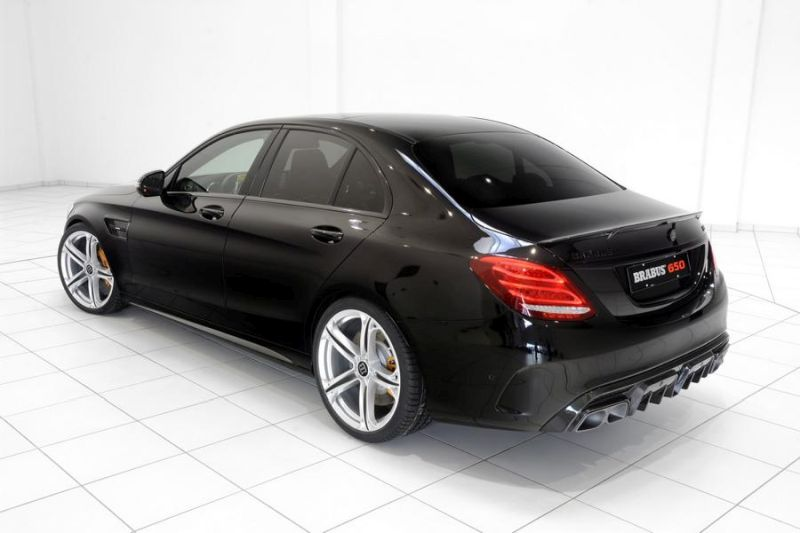 Brabus Mercedes C63 AMGs 650PS Tuning 14 (1)