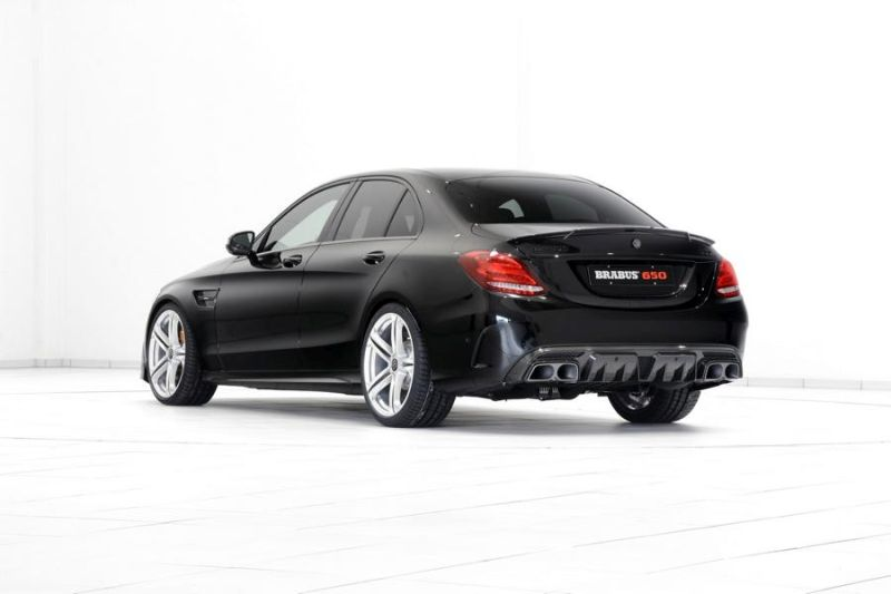 Brabus Mercedes C63 AMGs 650PS Tuning 14 2 Noch mehr   Brabus Mercedes C63 AMG s mit 650PS