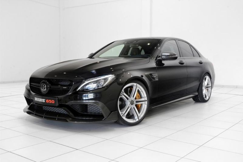 Brabus Mercedes C63 AMGs 650PS Tuning 2 Noch mehr   Brabus Mercedes C63 AMG s mit 650PS