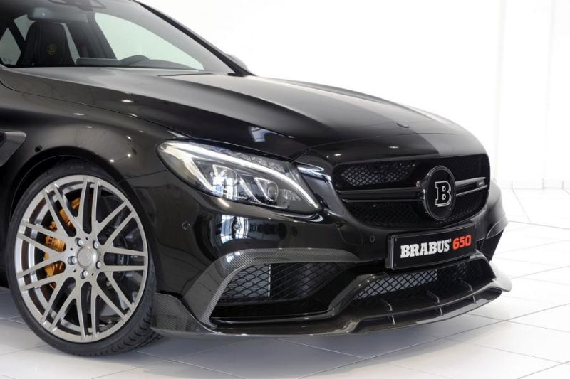 Brabus Mercedes C63 AMGs 650PS Tuning 7 (1)