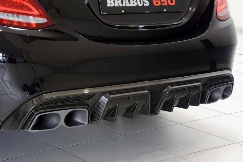 Brabus Mercedes C63 AMGs 650PS Tuning 9 2 Noch mehr   Brabus Mercedes C63 AMG s mit 650PS