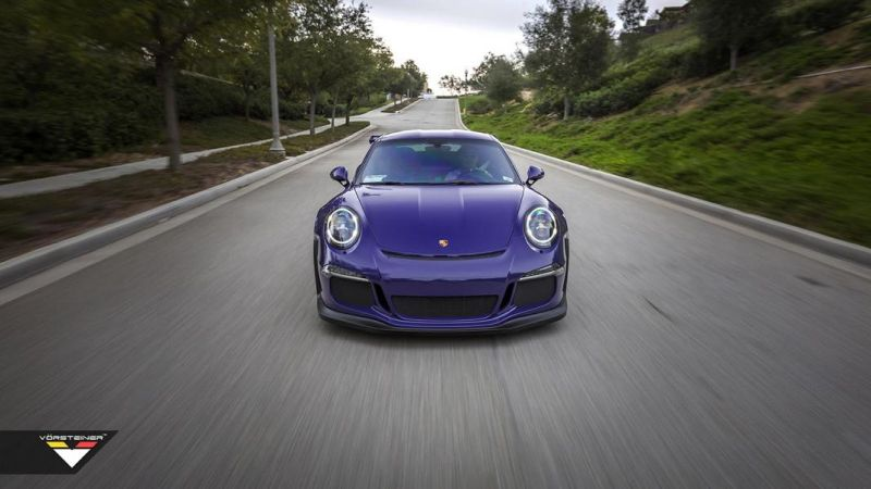 Carbon Bodykit Purple Beast Vorsteiner Porsche 911 991 GT3 RS 1 Carbon Bodykit am Purple Beast Vorsteiner Porsche 911 GT3 RS