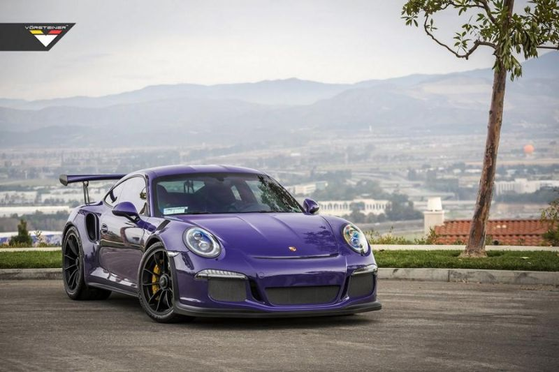 Carbon Bodykit Purple Beast Vorsteiner Porsche 911 991 GT3 RS 11 Carbon Bodykit am Purple Beast Vorsteiner Porsche 911 GT3 RS