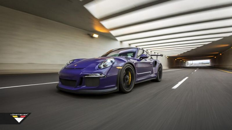 Carbon Bodykit Purple Beast Vorsteiner Porsche 911 991 GT3 RS 2 Carbon Bodykit am Purple Beast Vorsteiner Porsche 911 GT3 RS