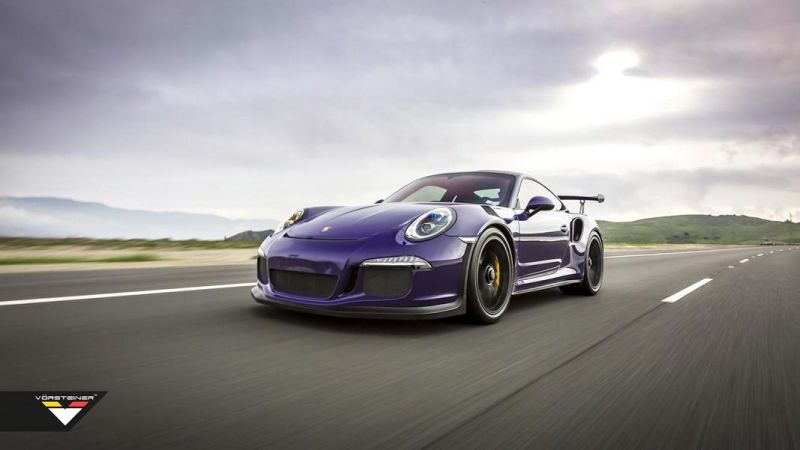 Carbon Bodykit Purple Beast Vorsteiner Porsche 911 991 GT3 RS 3 Carbon Bodykit am Purple Beast Vorsteiner Porsche 911 GT3 RS