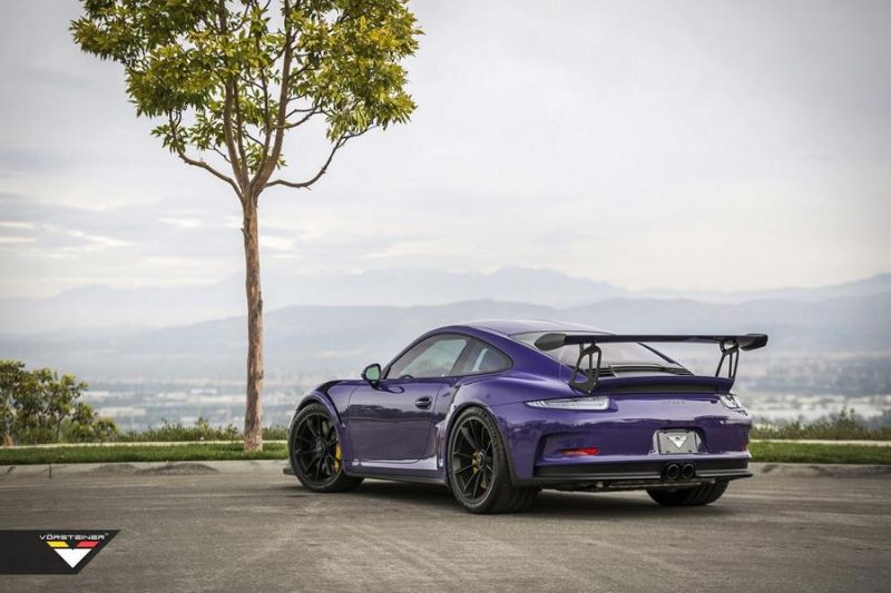 Carbon Bodykit Purple Beast Vorsteiner Porsche 911 991 GT3 RS 5 Carbon Bodykit am Purple Beast Vorsteiner Porsche 911 GT3 RS