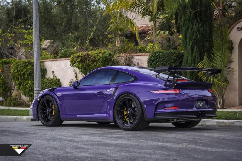 Carbon Bodykit Purple Beast Vorsteiner Porsche 911 991 GT3 RS 6 Carbon Bodykit am Purple Beast Vorsteiner Porsche 911 GT3 RS