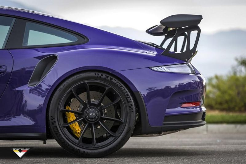 Carbon Bodykit Purple Beast Vorsteiner Porsche 911 991 GT3 RS 9 Carbon Bodykit am Purple Beast Vorsteiner Porsche 911 GT3 RS