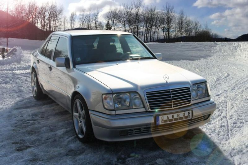 Carbon Motors Tuning Mercedes E500 W124 1 Carbon Motors   Tuning am Mercedes Benz E500 W124