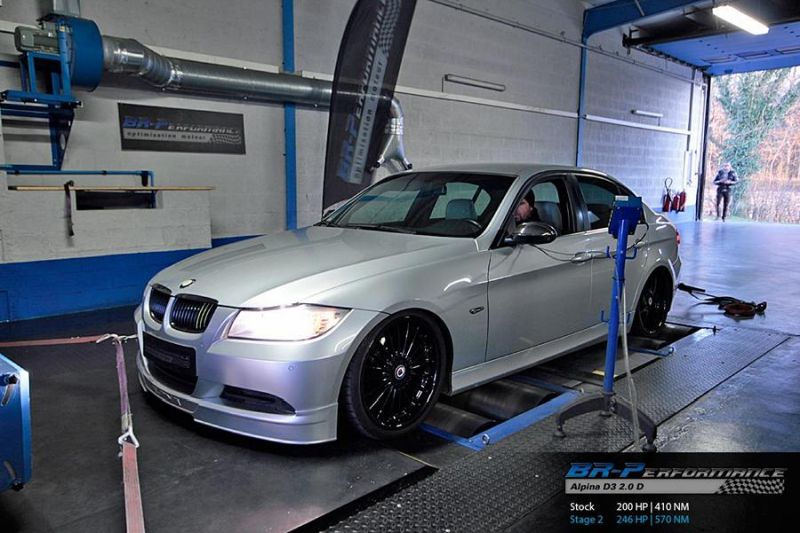 Chiptuning Alpina D3 2.0D by BR Performance 1 Noch mehr Power   Chiptuning Alpina D3 2.0D by BR Performance