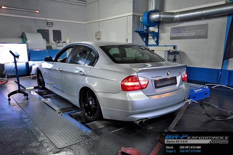 Chiptuning Alpina D3 2.0D by BR Performance 2 Noch mehr Power   Chiptuning Alpina D3 2.0D by BR Performance