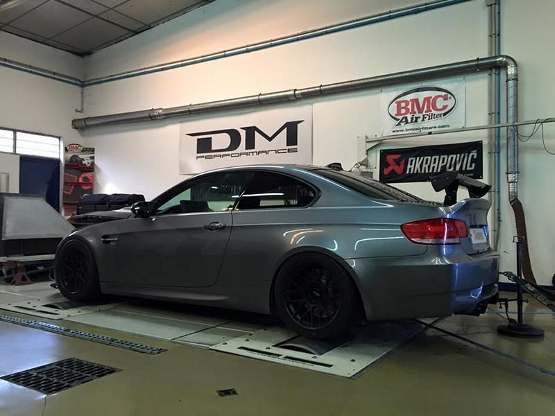 DM Performance BMW E92 M3 DKG - Tracktool 4