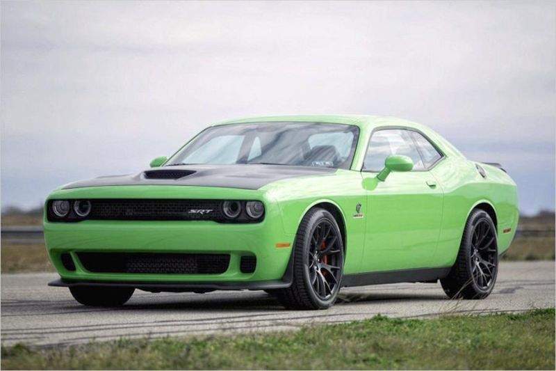 Dodge Challenger Hellcat HPE1000 Tuning Hennessey Performance 1