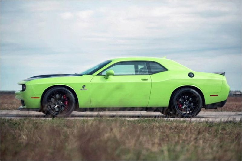 Dodge Challenger Hellcat HPE1000 Tuning Hennessey Performance 2