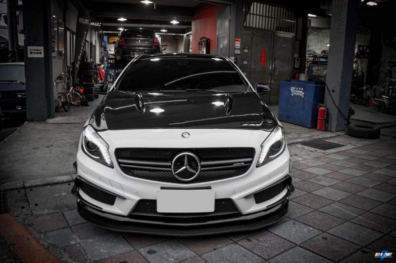 EPD Motorsports Mercedes A45 AMG RZA 450 Bodykit 1 EPD Motorsports Mercedes A45 AMG mit RZA 450 Bodykit