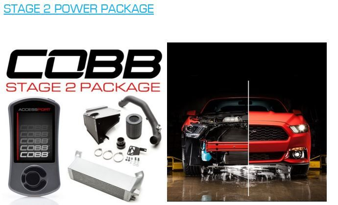 EcoBoost Stage 3 Power Package Ford Mustang by COBB Tuning 3 EcoBoost Stage 3 Power Package im Ford Mustang by COBB Tuning