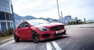 Fairy Design Widebody Kit Vivid Racing Mercedes CLA Exotics Tuning 1 1 e1455790135804 310x165 Fairy Design Widebody & Volk Alu's am Mercedes CLA45 AMG