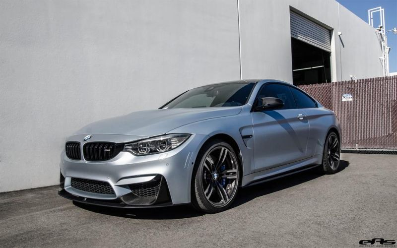 Frozen Silver BMW M4 F82 EAS Tuning Performance IND 1