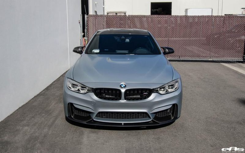 Frozen Silver BMW M4 F82 EAS Tuning Performance IND 10