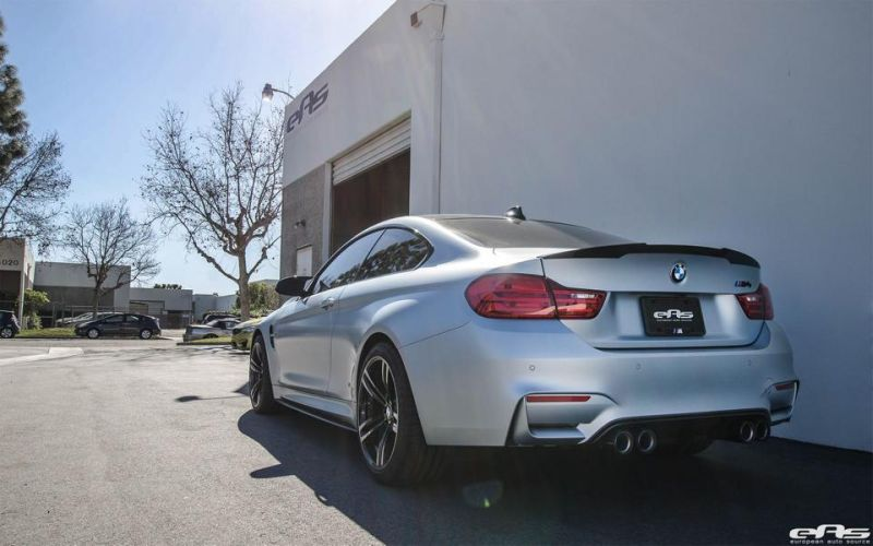 Frozen Silver BMW M4 F82 EAS Tuning Performance IND 11