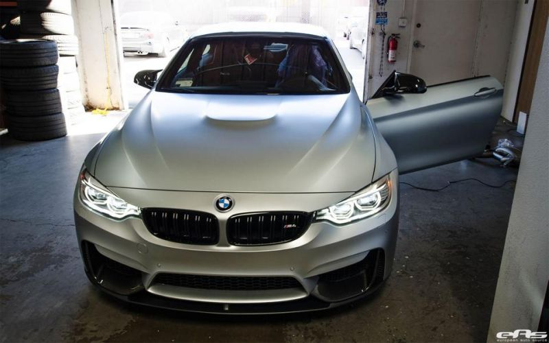 Frozen Silver BMW M4 F82 EAS Tuning Performance IND 2 Dezent   Frozen Silver BMW M4 F82 von EAS Tuning