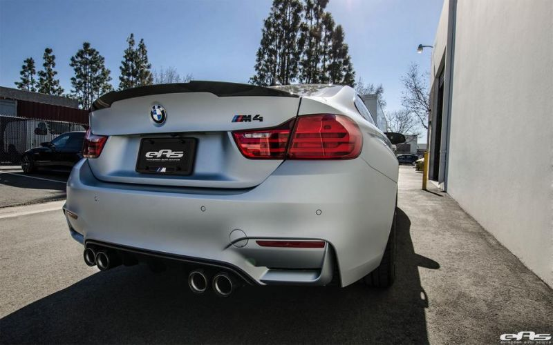 Frozen Silver BMW M4 F82 EAS Tuning Performance IND 9 Dezent   Frozen Silver BMW M4 F82 von EAS Tuning