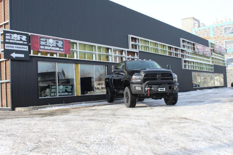 GR Suspension Tuning Dodge Ram 2500 2 GR Suspension Tuning am fetten Dodge Ram 2500