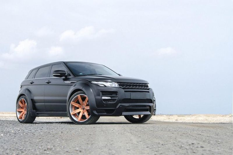 Hamann Bodykit Forgiato Wheels Tuning Range Rover Evoque 1 Hamann Bodykit & Forgiato's am Range Rover Evoque