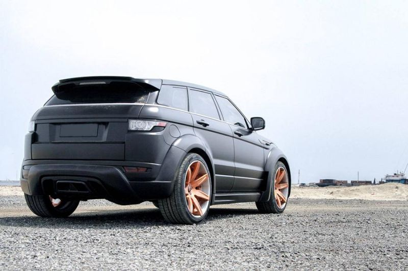 Hamann Bodykit Forgiato Wheels Tuning Range Rover Evoque 2 Hamann Bodykit & Forgiato's am Range Rover Evoque