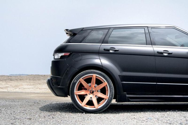 Hamann Bodykit Forgiato Wheels Tuning Range Rover Evoque 4 Hamann Bodykit & Forgiato's am Range Rover Evoque